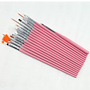 cheap LED Filament Bulbs-15PCS Nail Art Painting Pen Brush Kits Set