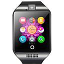 hesapli Duvar Işıkları-Akıllı İzle Q18 için Android Bluetooth USB Dokunmatik Ekran Yakılan Kaloriler El Kullanmadan Aramalar Kamera Mesafe Takip Kronometre Arama Hatırlatıcı Aktivite Takipçisi Uyku Takip Edici