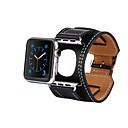hesapli Makyaj ve Tırnak Bakımı-Watch Band için Apple Watch Series 4/3/2/1 Apple Klasik Toka Gerçek Deri Bilek Askısı