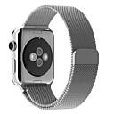 baratos Hubs USB-Pulseiras de Relógio para Apple Watch Series 3 / 2 / 1 Apple Pulseira Estilo Milanês Aço Inoxidável Tira de Pulso
