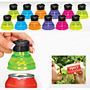 cheap Necklaces-Set of 6 Creative Soda Savers Toppers Reusable Bottle Caps Can Convert