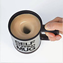 cheap Mugs-Self Stirring Coffee Mug Automatic Stir Cup Tea Office Funny Gift Mixing Drinks