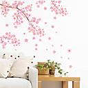 رخيصةأون ملصقات ديكور-مناظر طبيعية رومانسية أزياء أشكال المزين بالأزهار المواصلات خيال النباتية كارتون عطلة ملصقات الحائط لواصق حائط الطائرة لواصق حائط مزخرفة,