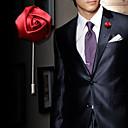 hesapli Takı Setleri-Kristal Uzun Broşlar - Güller, Çiçek Moda Broş Pembe / Şarap / Açık Mavi Uyumluluk Düğün / Parti / Doğumgünü