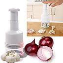 hesapli Banyo Gereçleri-Mutfak aletleri Metal Yaratıcı Mutfak Gadget Öğütücü Sebze için 1pc