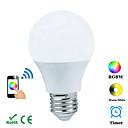 hesapli LED Ampuller-300-3600 lm E26/E27 Dekoratif Işıklar B 1 led COB Bluetooth RGB AC 100-240V AC 85-265V