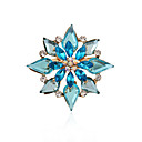 cheap Brooches-Women's Brooches - Rhinestone, Imitation Diamond Luxury, Double-layer, Fashion Brooch For Party / Daily / Casual