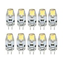 abordables Luces LED de Doble Pin-10pcs 1 W 100 lm G4 Luces LED de Doble Pin T 1 Cuentas LED COB Regulable Blanco Cálido Blanco Fresco 12 V / 10 piezas / Cañas