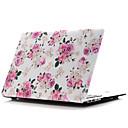 hesapli iPad Stickerları-MacBook Kılıf Çiçek Plastik için MacBook Air 13-inç / MacBook Air 11-inç