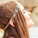 cheap Hair Jewelry-European Turquoise Alloy Headbands Daily / Casual 1pc