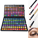 preiswerte Make-up & Nagelpflege-168 Farben Lidschatten / Puder / Make-up Pinsel Auge Wasserdicht Glitter Lipgloss Farbiger Lipgloss Alltag Make-up / Halloween Make-up / Party Make-up Bilden Kosmetikum / Matt / Schimmer