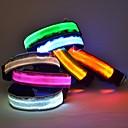 hesapli Köpek Yakalar, Kuşaklar ve Kayışlar-Kedi / Köpek Yakalar LED Işıklar / Ayarlanabilir / İçeri Çekilebilir Naylon Mavi / Pembe / Herhangi Bir Renk