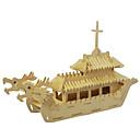 رخيصةأون ألعاب الماء-قطع تركيب3D تركيب خشبي النماذج الخشبية سفينة خشب للصبيان للفتيات ألعاب هدية