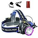 preiswerte Bekleidung & Accessoires für Hunde-2000 lm Stirnlampen Cree XM-L T6 3 Modus LS1792 - Taktisch / Zoomable- / Wasserfest