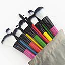hesapli Makyaj ve Tırnak Bakımı-10pcs Makyaj fırçaları Profesyonel Fırça Setleri / Allık Fırçası / Far Fırçası Naylon Fırça / Diğer Fırça Portatif / Seyahat / Çevre-dostu Ahşap