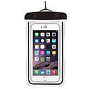 hesapli Makyaj ve Tırnak Bakımı-Kuru Çanta / Cep Telefonu Çanta için Samsung Galaxy S6 / iPhone 6s / 6 / iPhone 6 Plus Hafif / Su Geçirmez / Florasan 6inch PVC