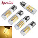 hesapli Diğer LED Işıkları-6000-6500/3000-3200 lm E14 LED Mısır Işıklar T 51 led SMD 2835 Dekorotif Sıcak Beyaz Serin Beyaz AC 220-240V