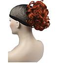 baratos Maquiagem & Produtos para Unhas-Rabos-de-Cavalo Cabelo Sintético Pedaço de cabelo Alongamento Encaracolado Curto