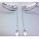 preiswerte Ohrringe-Damen Ohr-Stulpen - Strass Silber Für Hochzeit / Party / Alltag