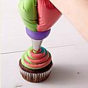 זול כלים וגאדג'טים לאפייה-כלי Bakeware פלדת על חלד Cake עוגיה פאי כלי קישוט 1pc