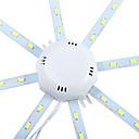hesapli Motorlar ve Parçaları-YWXLIGHT® 1pc 10 W 960 lm 24 LED Boncuklar SMD 5730 Dekorotif Serin Beyaz 220-240 V / 1 parça / RoHs