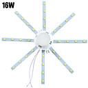 hesapli LED Tavan Işıkları-YWXLIGHT® 1pc 16 W 1280 lm 32 LED Boncuklar SMD 5730 Dekorotif Serin Beyaz 220-240 V / 1 parça / RoHs