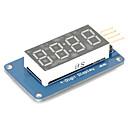 preiswerte Motherboards-4 Bit-Digital-Rohr-LED-Display-Modul mit Uhranzeige tm1637 für Arduino Raspberry Pi