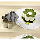preiswerte Backzubehör & Geräte-Backwerkzeuge Edelstahl Neujahr Brot / Kuchen Kuchen Cutter 1pc