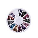 hesapli Makyaj ve Tırnak Bakımı-1PC Nail Jewelry Çiçek / Moda Sevimli Günlük