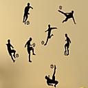 hesapli Bar Gereçleri ve Açıcılar-İnsanlar Natürmort Şekiller 3D Spor Serbest Duvar Etiketler Uçak Duvar Çıkartmaları Dekoratif Duvar Çıkartmaları, Vinil Ev dekorasyonu