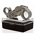cheap Magnifiers-10X & 20X Jeweller Loupe Magnifier Dual Magnifying Glass
