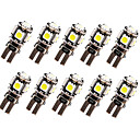 저렴한 다양한 LED 조명-SO.K 10pcs T10 차 전구 2.5 W 120 lm LED 방향 지시등 For 유니버셜