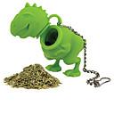 رخيصةأون أدوات الفرن-سيليكون المطبخ الإبداعية أداة / شاي ديناصور 1PC مرشحات / مصفاة الشاي / يوميا