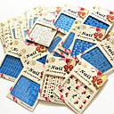 hesapli Makyaj ve Tırnak Bakımı-20 pcs Su Transferi Sticker tırnak sanatı Manikür pedikür Moda Günlük