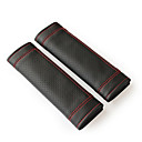 cheap Vehicle Consoles & Organizers-Seat Belt Cover seat belt PU Leather For universal