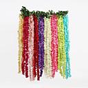 hesapli Ev Dekorasyonu-Saç Süsleri Polyester Düğün Süslemeleri Noel / Düğün / Yıldönümü Bahçe Teması / Çiçek Teması Bahar / Yaz / Sonbahar
