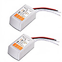 رخيصةأون شرائط ضوء مرنة LED-2PCS ac 110-240v إلى dc 12v 18w يقود جهد فلطيّ محول