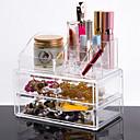 hesapli Makyaj ve Tırnak Bakımı-Cosmetics Storage Makyaj 1 pcs Arkilik / Plastik Klasik Günlük Kozmetik Tımar Malzemeleri