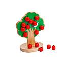 halpa Hiuskorut-puisia puu magneettinen lelut, vauvan sekoitettu, lasten koulutus-lelut