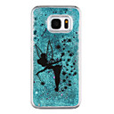 cheap Galaxy J Series Cases / Covers-Case For Samsung Galaxy Samsung Galaxy S7 Edge Flowing Liquid Transparent Pattern Back Cover Cartoon Hard PC for S7 edge S7