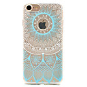 voordelige Hoesjes-hoesje Voor Apple iPhone 5 hoesje iPhone 6 iPhone 7 Patroon Achterkant Lace Printing Zacht TPU voor iPhone 7 Plus iPhone 7 iPhone 6s Plus