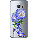 preiswerte Samsung Bildschirm-Schutzfolien-Hülle Für Samsung Galaxy Samsung Galaxy S7 Edge Muster Rückseite Blume Weich TPU für S7 edge S7 S6 edge plus S6 edge S6