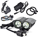 hesapli Bisiklet Işıkları-Bisiklet Işıkları bisiklet kızdırma ışıklar emniyet ışıkları LED Cree XM-L T6 Bisiklet Süper Hafif 18650 Lityum Pil 6000 Lümen Batarya