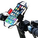 hesapli Montajlar ve Tutacaklar-Bisiklet İçin Telefon Montaj Aparatı Ayarlanabilir, GPS, 360 derece çevirilebilir uçuş Bisiklete biniciliği / Bisiklet Plastik Siyah / Kırmzı - 1 pcs
