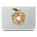 hesapli Mac Stickerlar-1 parça Deri Etiket için Çizilmeye Dayanıklı Çiçek Tema PVC MacBook Pro 15'' with Retina / MacBook Pro 15'' / MacBook Pro 13'' with Retina / MacBook Pro 13 '' / MacBook Air 13'' / MacBook Air 11''