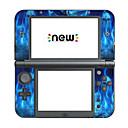 baratos Acessórios para Nintendo 3DS-B-SKIN Adesivo Para Nintendo 3DS New LL (XL) Adesivo PVC 1 pcs unidade Sem Fio