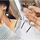 cheap Baking Tools & Gadgets-Women's Drop Earrings Hoop Earrings Dangle Earrings - Gold Plated Gold / Silver For Wedding Party Daily / Casual