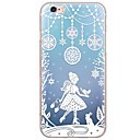 cheap Home Decoration-Case For Apple iPhone X / iPhone 8 / iPhone 7 Ultra-thin / Translucent Back Cover Christmas Soft TPU for iPhone X / iPhone 8 Plus / iPhone 8