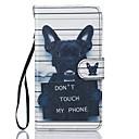 tanie Etui / Pokrowce do Samsunga Galaxy J-Kılıf Na Samsung Galaxy J5 (2016) Etui na karty Portfel Z podpórką Pełne etui Pies Twarde Skóra PU na J5 (2016) J5