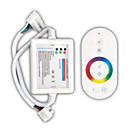 ieftine Manete RGB-zdm 1pc alb telecomandă 216w wireless touch rbg led controler bar / receptor dc12-24v